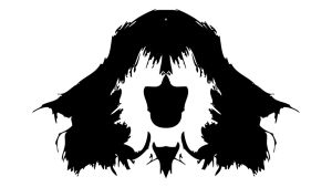 Ett exempel på ett Rorschach test.
