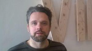 Dramaturgen Christoffer Mellgren.
