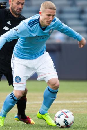 Alexander ring i farten för New York City FC.