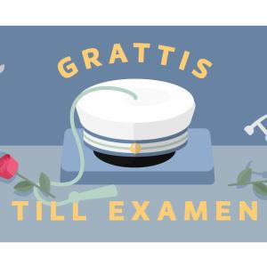 Bild av examensmössa för yrkesexamen