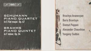 levynkansi Schumann: Piano Quartet