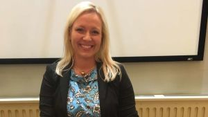 Johanna Holmäng (SFP), kommunfullmäktigeordförande i Pedersöre.