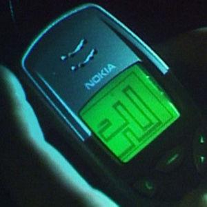 Nokian matkapuhelimen matopeli.