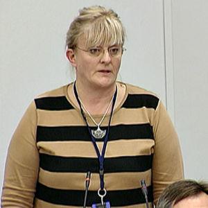 Pirkko Mattila, social- och hälsovårdsminister