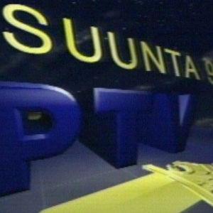 Poliisi-TV:n (PTV:n) alkuperäinen logo.