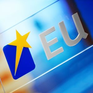 Bakgrundsbild med loggan för EU-valet 2014.
