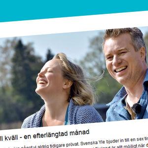 På gång på Svenska Yle
