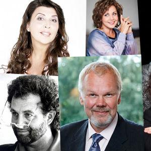 Kansainvälisen Mirjam Helin -laulukilpailun 2014 tuomaristo.