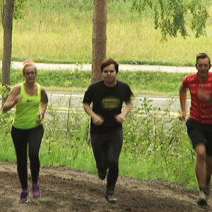 Kolme kovaa: Sampo Rouhiainen, Iida Aarnio ja Kristian Tervo.