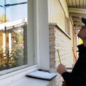 Ikkunoiden pinta-ala vaikuttaa talon energiatehokkuuteen