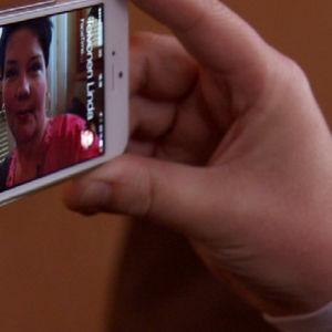 Videopuhelu kännykällä