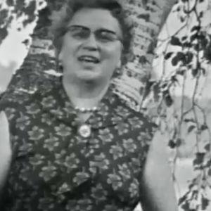 Kvinna från Terjärv.