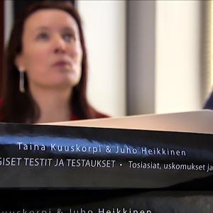 Taina Kuuskorpi & Juho Heikkinen - Psykologiset testit ja testaukset -kirja