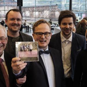 Alba Records ja Kamus-kvartetti voittivat Vuoden levyn 2015.