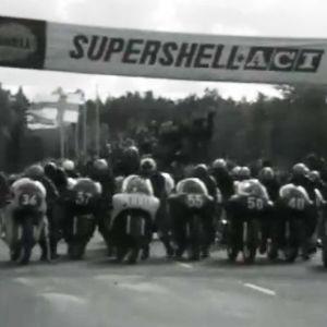 Imatranajojen lähtö vuonna 1963.