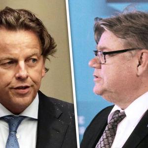 Timo Soini, Bert Koenders