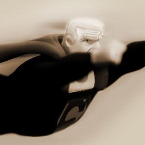 Ikääntynyt supermies.