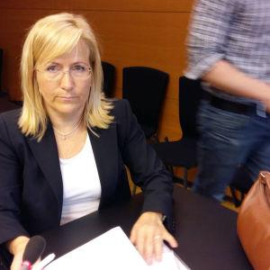 Åklagare Tuire Tamminiemi i Helsingfors tingsrätt.