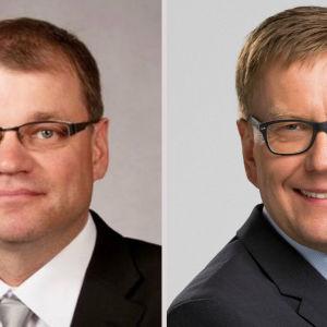Juha Sipilä och Atte Jääskeläinen