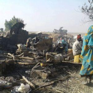 Civila utsattes för attack riktad mot Boko Haram i Nigeria.