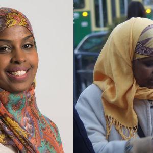 porträtt på Ali Habiba och Zahra Abdulla