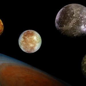 planeettoja avaruudessa