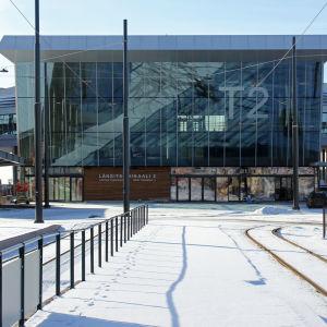 Färjterminal 2 vid Västra hamnen i Helsingfors.