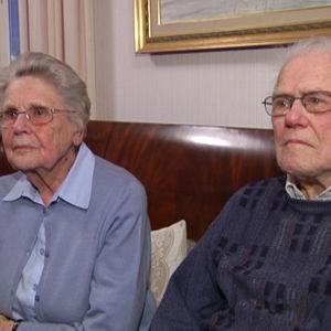 Krigsveteranerna Johan och Ulla Degerth