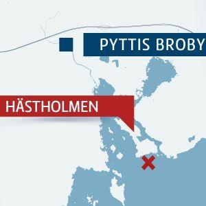 Karta över Pyttis