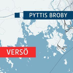 Karta över Versö och Pyttis Broby