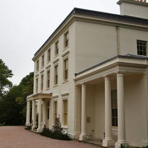 Fasaden av Greenway.