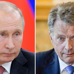 Vladimir Putin ja Sauli Niinistö