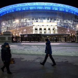 Jekaterinburgin jalkapalloareena.