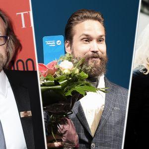 George Saunders, Jukka Viikilä ja Pauliina Rauhala.