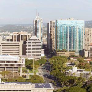 Yleisnäkymä Honolulusta.