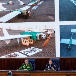 Venäjän puolustusministeriö esittää.
