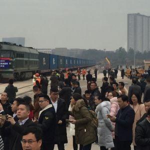 Sahatavarajuna perillä Kiinan Ganzhoussa.