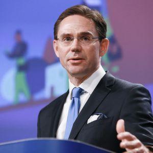 Komission varapuheenjohtaja Jyrki Katainen.