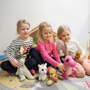 Lapsia Ruokopillin päiväkodissa Vantaalla.