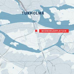Kartta Tukholmasta