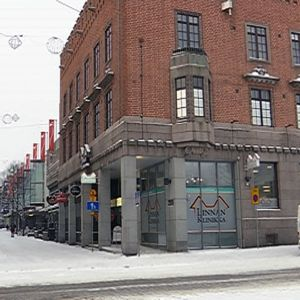 Hämeenlinnan kävelykatu Reska keskustassa