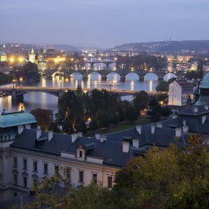 Yleisnäkymä Prahasta