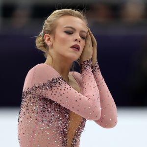 Emmi Peltonen Moskovan EM-kisoissa.