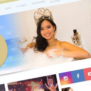 Kuvakaappaus Miss Belgium sivustolta