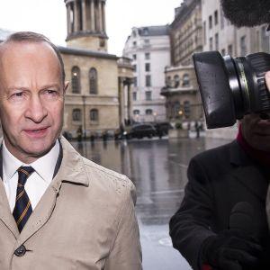 UKIP-puolueen puheenjohtaja Henry Bolton.