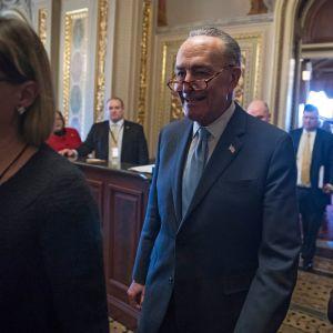 Yhdysvaltain senaatin vähemmistöjohtaja Chuck Schumer