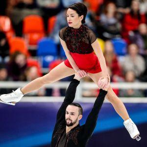 Ksenia Stolbova ja Fjodor Klimov.