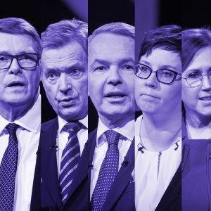Presidenttiehdokkaat