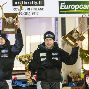 Teemu Asunmaa on voittanut kolme rallin Suomen mestaruutta ja tavoittelee nyt neljättä.