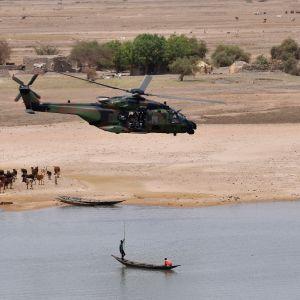 Ranskalainen sotilashelikopteri Malissa
